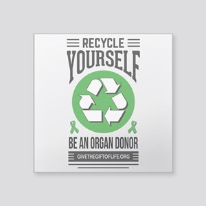 Organ Donation Awareness Sticker