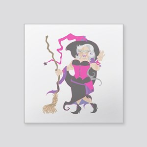 "Granny Hex Square Sticker 3"" x 3"""
