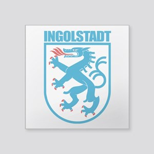 "Ingolstadt Square Sticker 3"" x 3"""