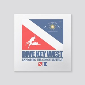 Dive Key West Sticker