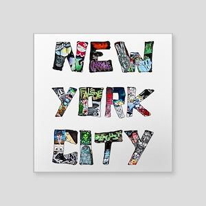 New York City Street Art Sticker