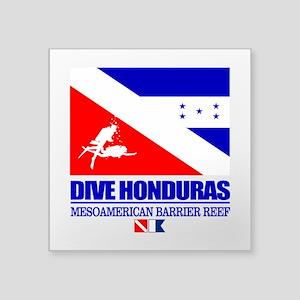 Dive Honduras Sticker