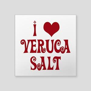 I Love Veruca Salt Sticker