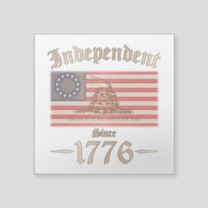 """Independent Square Sticker 3"""" x 3"""""""