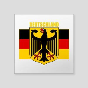 "Germany COA 2 (B) Square Sticker 3"" x 3"""