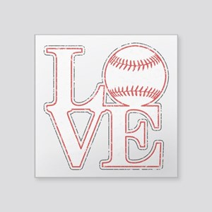 Love Baseball Classic Sticker