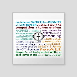 UU 7 Principles Sticker