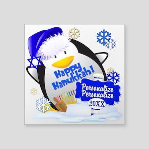 Happy Hanukkah Custom Sticker