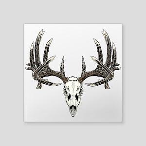 Whitetail skull Sticker