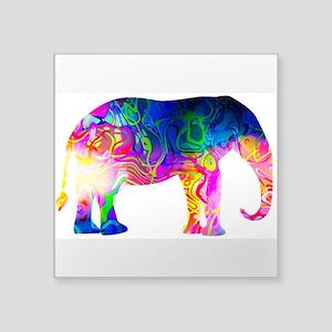 Cool spaghetti Elephant Sticker