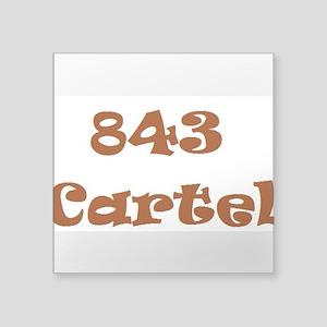 843 Cartel Sticker