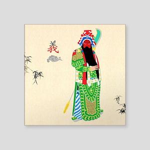 Peking Opera Guanyu - Sticker
