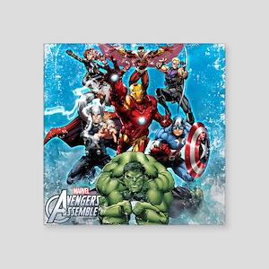 "The Avengers Square Sticker 3"" x 3"""