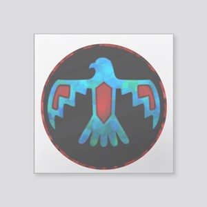 Blue Thunderbird Sticker