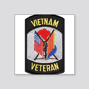 Vietnam Veteran Rectangle Sticker