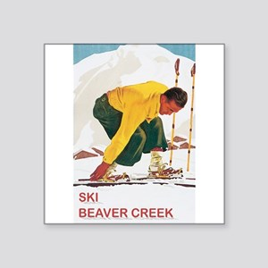 Ski Beaver Creek Rectangle Sticker