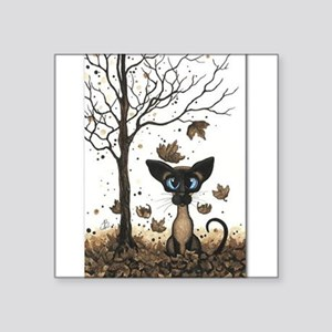 Fall Feline Sticker