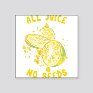 Funny Vasectomy Puns All Juice No Seeds Ur Sticker