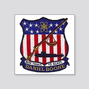 "dboone  patch Square Sticker 3"" x 3"""
