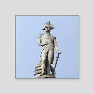 "Lord Nelson London Pro phot Square Sticker 3"" x 3"""