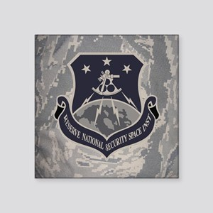 "USAFR-RNSSI-Mousepad- Square Sticker 3"" x 3"""