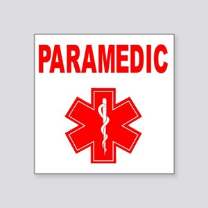 "Paramedic Square Sticker 3"" x 3"""