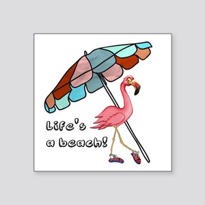 Cute Flamingo Sticker