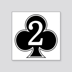 "2-327 Infantry Square Sticker 3"" x 3"""