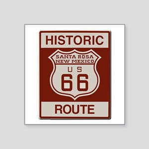 Santa Rosa Route 66 Sticker