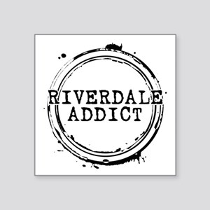 "Riverdale Addict Stamp Square Sticker 3"" x 3"""