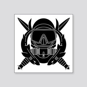 Combat Diver 2.0-Black Sticker