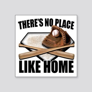 "NoPlaceLikeHome copy Square Sticker 3"" x 3"""