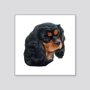 Black and Tan Cavalier King Charles Spanie Sticker