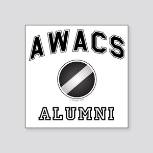 "AWACS Alumni Square Sticker 3"" x 3"""