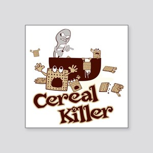 "Cereal Killer Square Sticker 3"" x 3"""