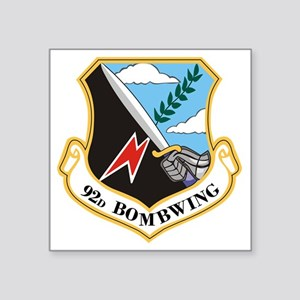 "92nd Bomb Wing Square Sticker 3"" x 3"""