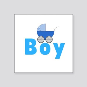 Its A Boy Gender Reveal Sticker