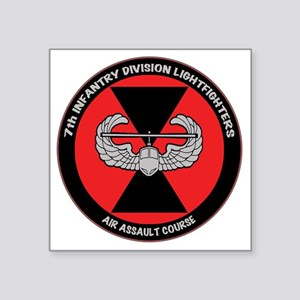 "airassault_7th_trans Square Sticker 3"" x 3"""