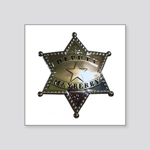 Mayberry Deputy Badge Sticker