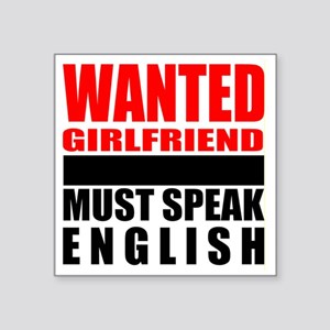 Wanted: a new girlfriend