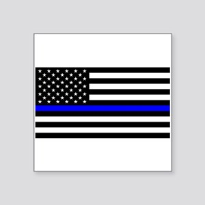 Police: Black Flag & The Thin Blue Line Square