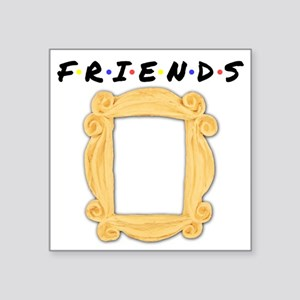 Friends Peephole Frame Sticker
