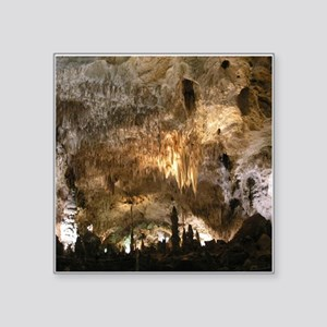 "CARLSBAD CAVERNS Square Sticker 3"" x 3"""