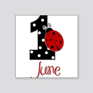 1 Ladybug JUNE - Custom Sticker