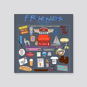 Friends TV Show Collage Sticker