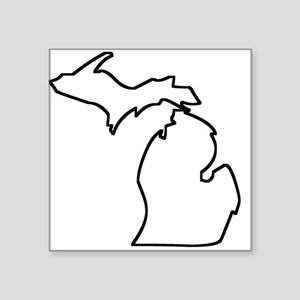 Michigan Outline Sticker