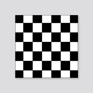 Checkered Pattern Sticker