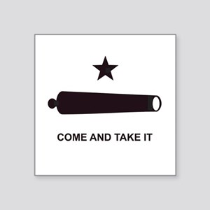 COMEANDTAKEITBEACHBAGTEMPLATE Square Sticker 3