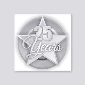 25 Years Sticker