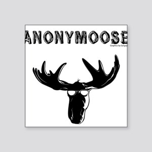 anonymoose Rectangle Sticker